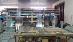 Стол для резки стекла для окон на предприятии ИП ТУриев