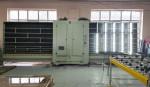 Машина для мойки стекла при подготовке изготовления стеклопакетов окон на предприятии ИП Туриев